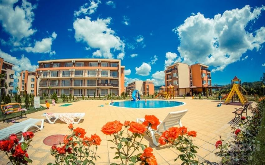 2-bedroom apartment in Holiday Golf Fort Club ID 914, Sunny Beach. Photo  1