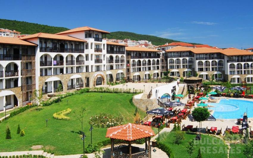 Apartment with access to the garden in the complex Vodenitsa ID 1862, Saint Vlas. Photo  1