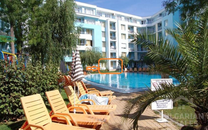 One bedroom apartment 70 meters from the beach ID 1645, Sunny Beach. Photo  1